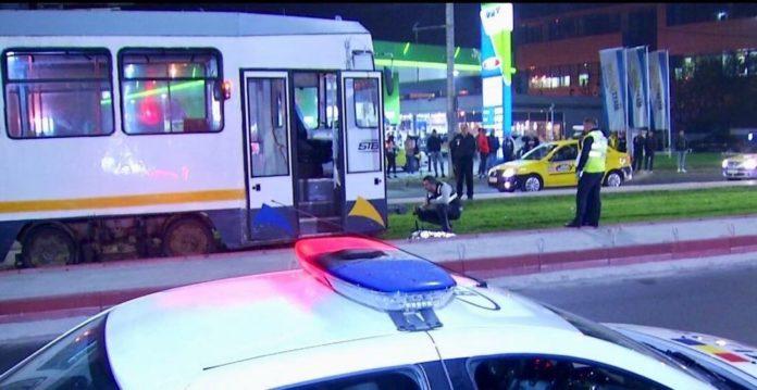 accident capitala tramvai