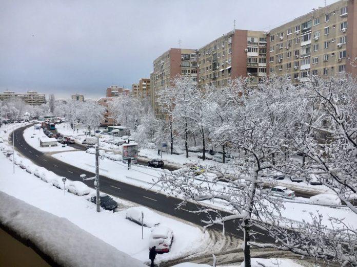Iarna Bucuresti