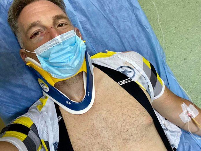 alex filip biciclist accidentat