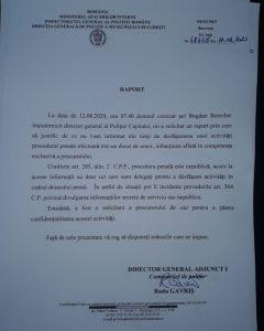 document politie scandal Politie Capitalei
