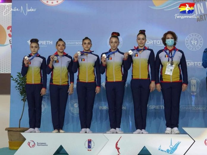 vicecampioane europene gimnastica romania