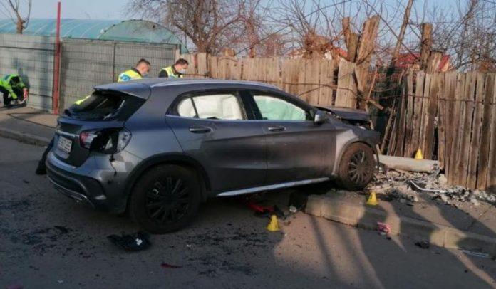 Accident doua fetite au decedat