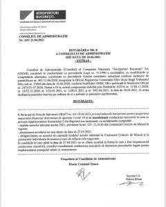 pct. 5 HCA nr. 8 din 20.04.2021