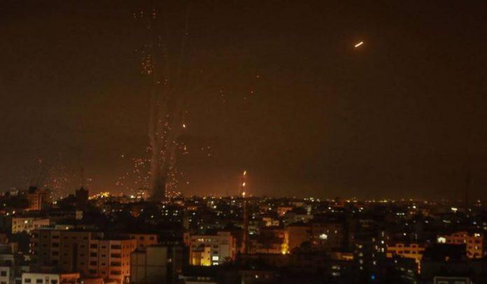 Rachete împotriva Israelului