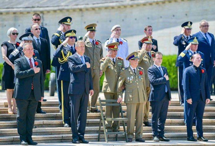Președintele Iohannis, premierul Cîțu, Ludovic Orban și ministrul Apărării